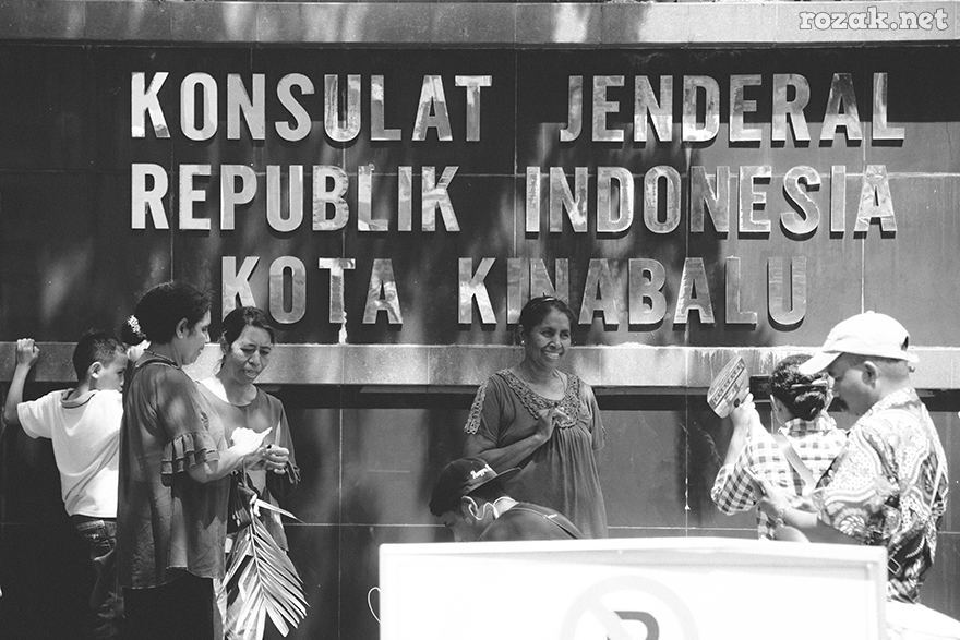INDONESIA ELECTION DAY 2019 Indonesia election day 2019 on Kota Kinabalu Sabah - Malaysia (14/4/2019), the general election for assembly representatives of the people and president of the Republic of Indonesia.